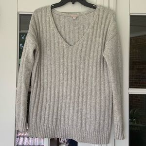 Light grey gap sweater